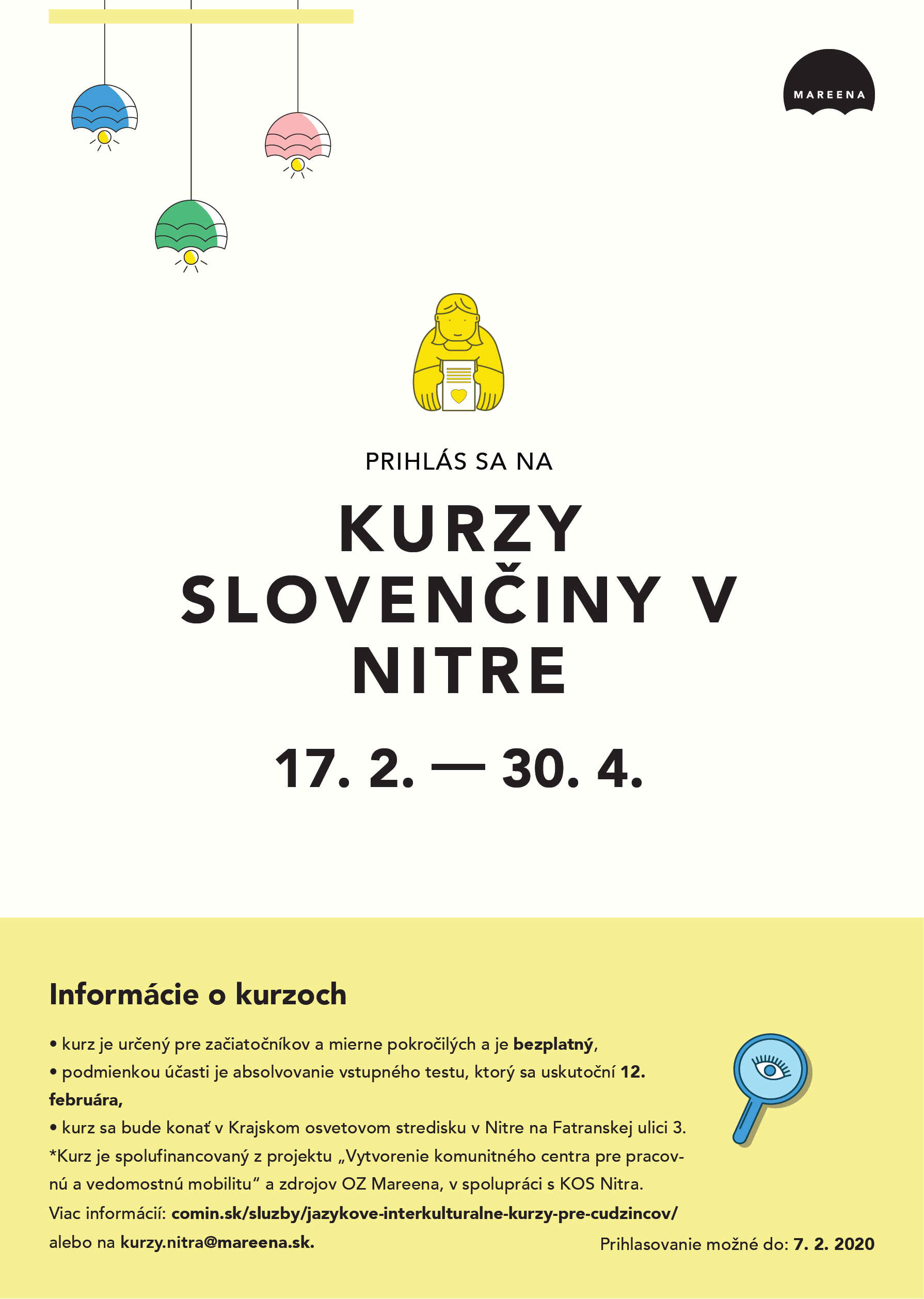 Prihláste sa na kurz slovenčiny