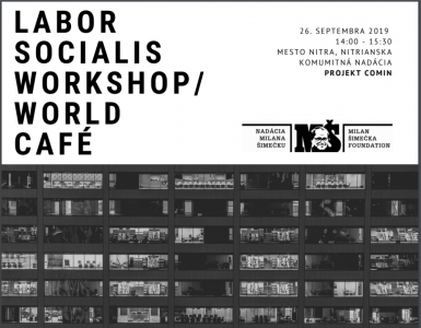 LABOR SOCIAL IS WORKSHOP/ WORLD CAFÉ