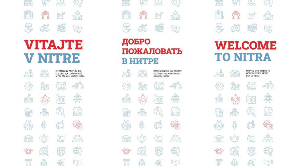 Informačná brožúra pre cudzincov v Nitre
